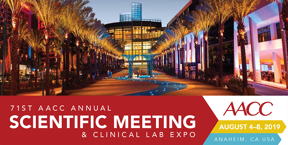 Meet Us @ 71st AACC Scientific Annual Meeting & Clinical Lab Expo